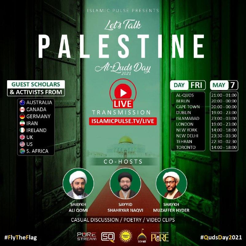 Let's Talk Palestine